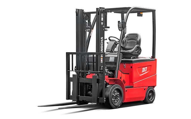 4-Wheel Cushion Tire Forklift  3,000-6,500lbs