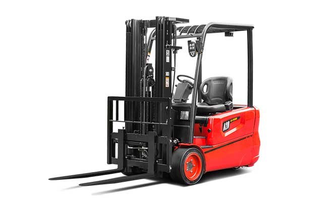 3-Wheel Lead Acid Battery Forklift  3,000-4,000lbs