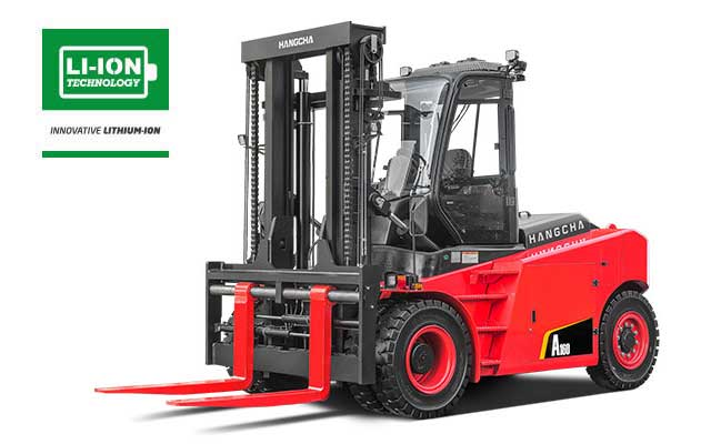4-Wheel Pneumatic Tire Forklift  25,000-35,000lbs