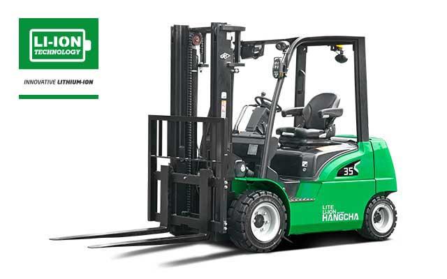 Light Duty  4-Wheel XC Series Li-ion Battery Forklift  4,000-7,000lbs
